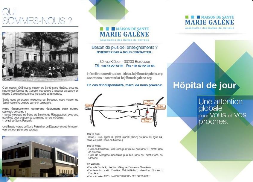 Plaquette Hôpital de jour